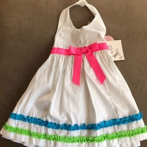 NWT 2T summer Halter Dress